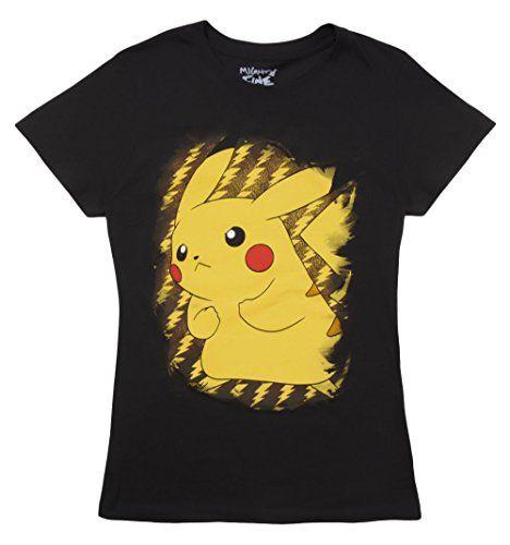 Pokemon Pikachu Bolt Girls T-Shirt