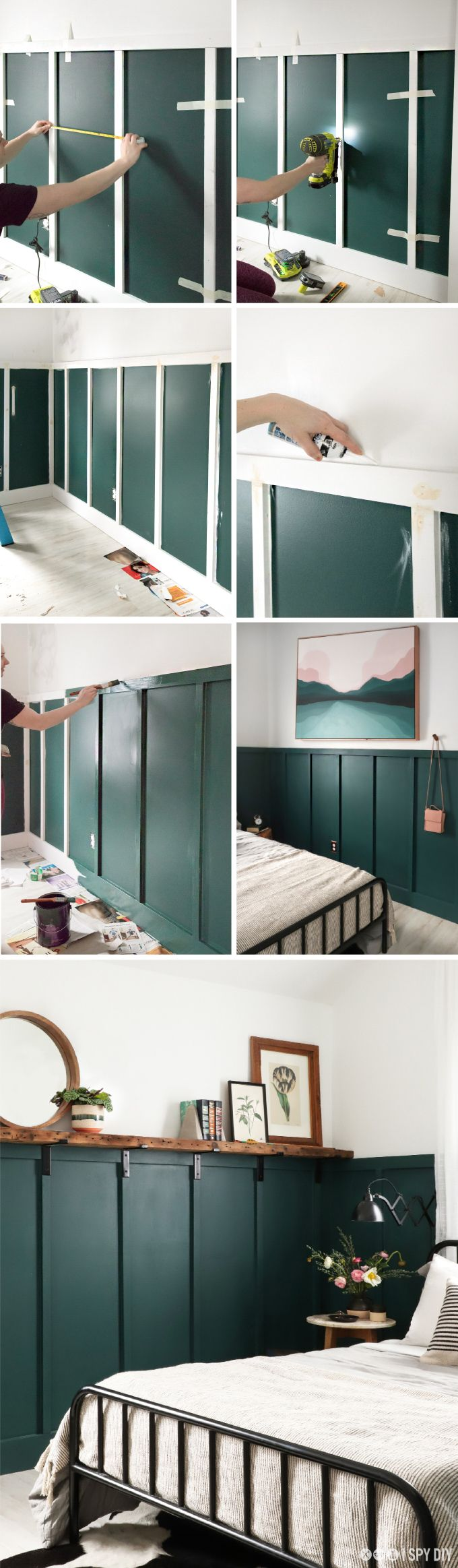 DIY HOME | Board & Batten Wall