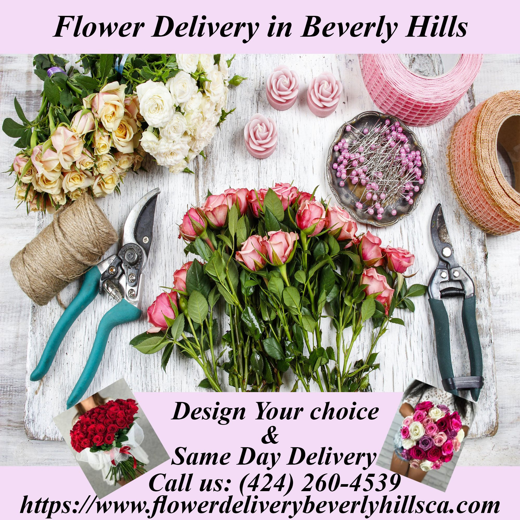 Flower Delivery Beverly Hills Ca Area Gives Best Prices Range For An