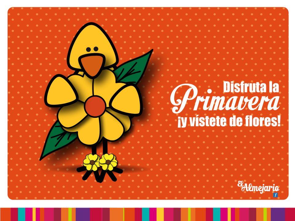 Disfruta la primavera y vístete de flores!