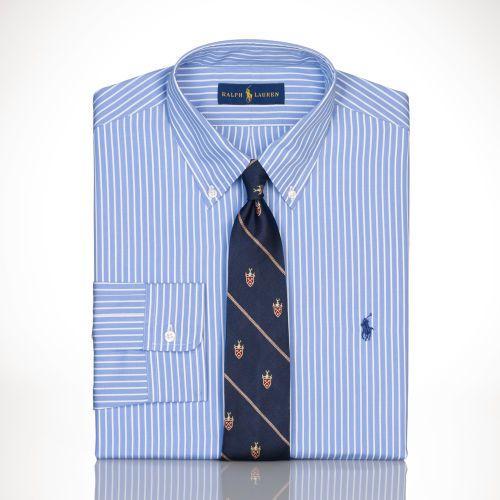 Polo Ralph Lauren Slim-Fit Striped Dress Shirt on shopstyle.com