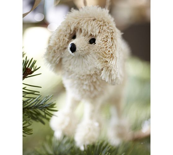 Poodle Ornament From Pottery Barn I Need This Now