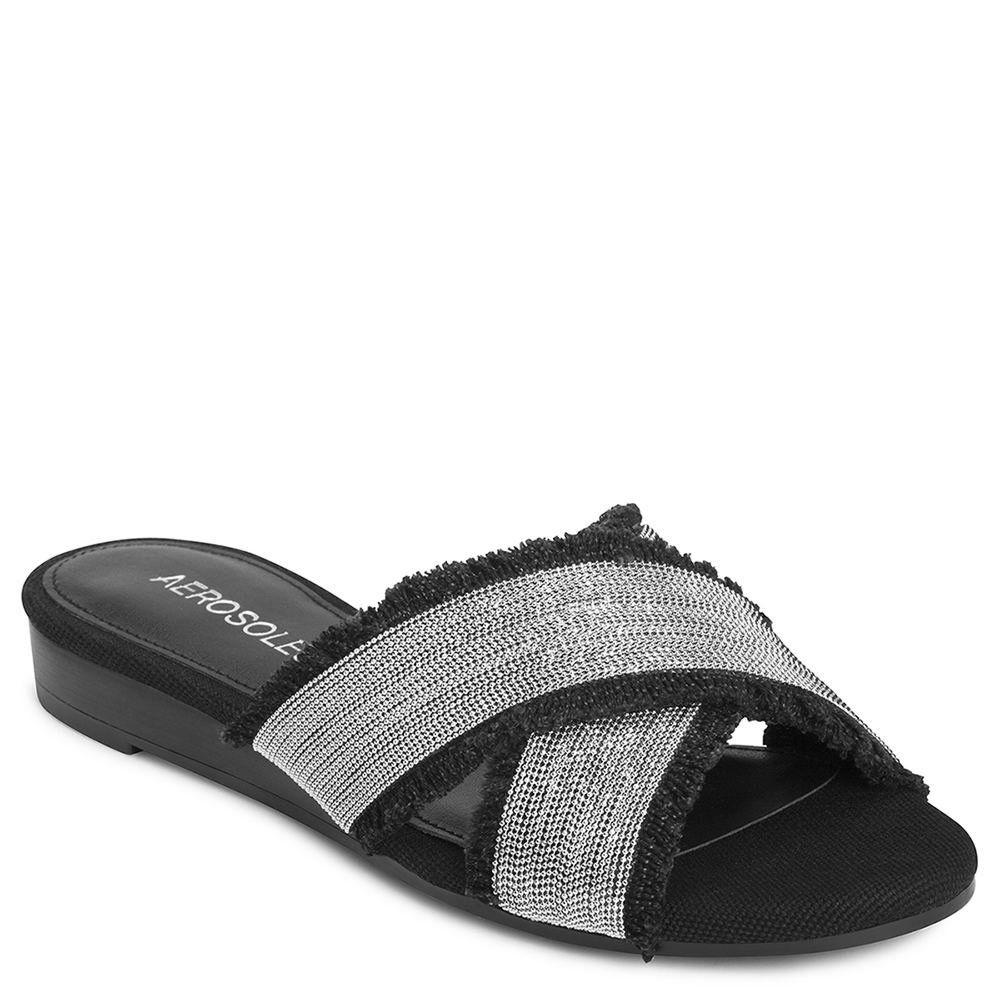 Aerosoles Women's Just a Bit Slide Sandal, *** Thanks a