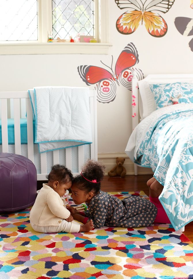 Love the butterfly decals by Bee Things
