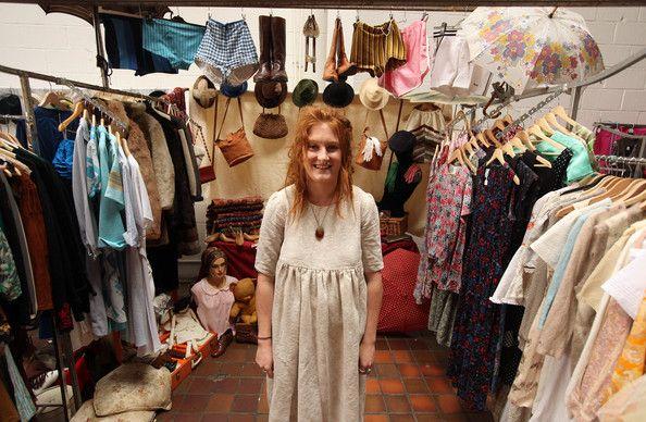 Jess Collins Photos Photos Brick Lane Hosts Vintage Pop Up Market Pop Up Market Fashion Inspo Vintage Outfits