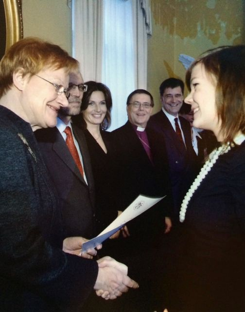 AWARDS: 12/2005 I attained The Bronze Standard of the International Award for Young People. Award given by President of the Republic Tarja Halonen. http://avartti.fi