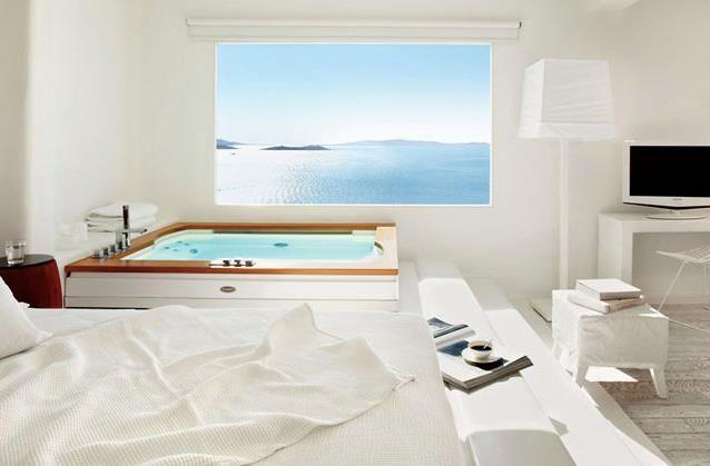 Cavo Tagoo Hotel in Mykonos, Greece Resorts Pinterest Mykonos - Hotel Avec Jacuzzi Dans La Chambre