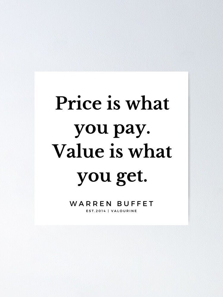2  | Warren Buffett Quotes | 190823 Poster by QuotesGalore