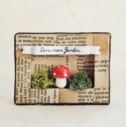 Dans Mon Petite Jardin X Crafts Matchbox Crafts Shadow Box