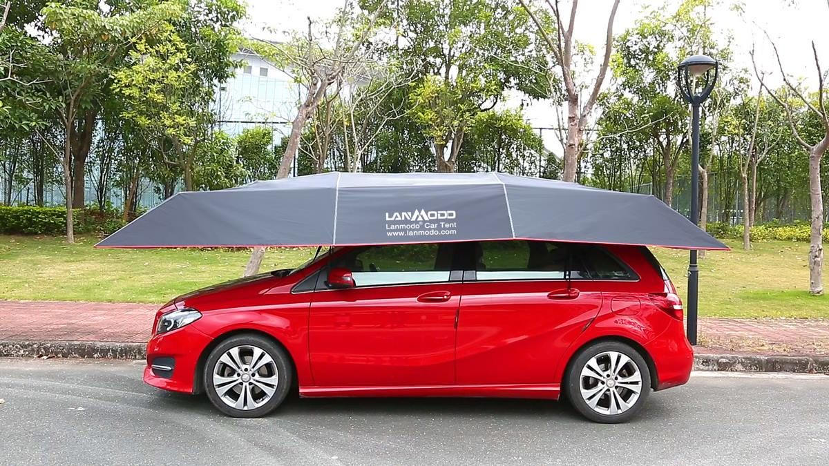 Lanmodo Pro Four Season Automatic Car Tent Cover Carport