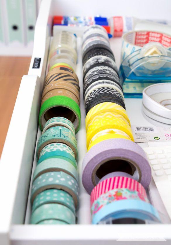 Aufbewahrung Für Scrapbooking Papier Und Washi Tape Ikea