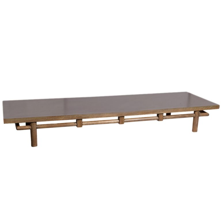 A Rare 1950s Oversized Low Table By T.H. Robsjohn Gibbings