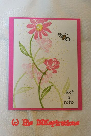 Images by stampin up feel better soon pinterest note card images by stampin up invitation cardshand stampedfeel m4hsunfo