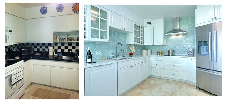 Residential Interior Design By Dkor Interiors Kitchen Before And After Shot Miami Fl Home Residential Interior Design Residential Interior Kitchen