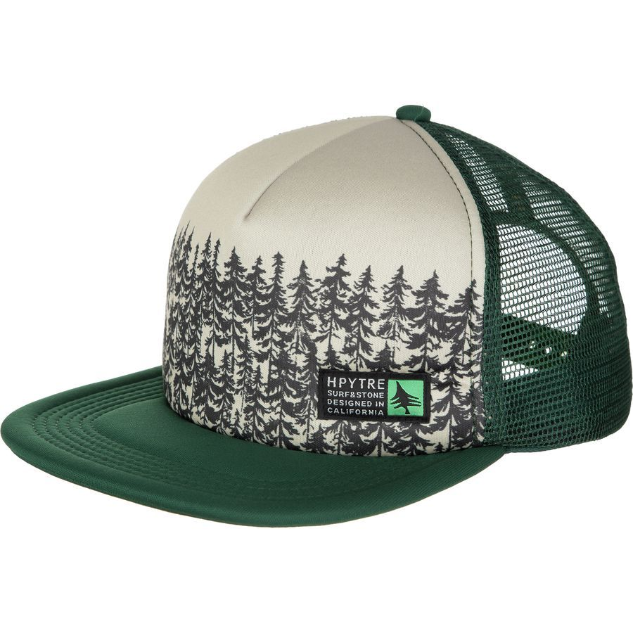 Hippy Tree Treeline Trucker Hat  b47ea8ab323