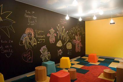 Artistic Abstract Art Decoration For Preschool Kindergarten Classroom Decorating Design Ideas Jp Sunday School Room Decor Sunday School Rooms Kids Church Rooms