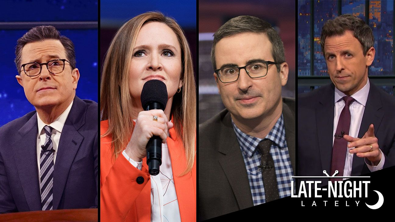 Trump at 100 Days: How Each Late-Night Host Has Covered (and Mocked) the President This special edition of Late-Night Lately takes a look back at the most memorable moments about President Trump on late-night television.  read more