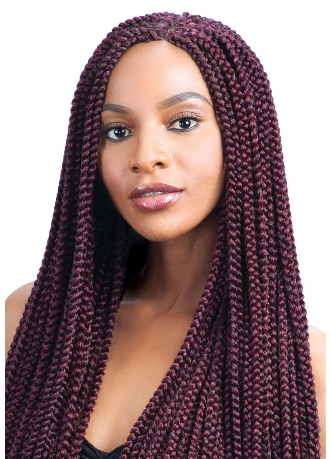 Model Model Glance Braid LONG MEDIUM BOX BRAID (Crochet