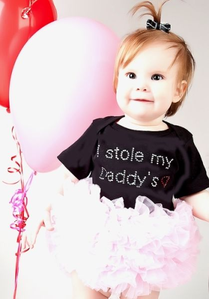 I Stole My Daddy's Heart Tutu Onesie - Tutu Spoiled