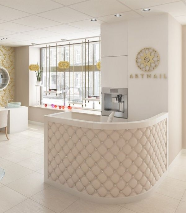 This Beautiful Salon Is Minimalistic Which Radiates A Clean
