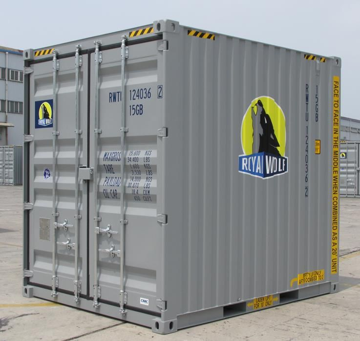 10ft Shipping Container warehouse Pinterest Container size