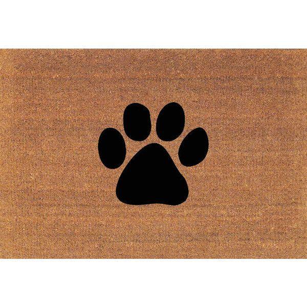 Paw Print Dog Paw Cat Paw Door Mat Coir Doormat Rug 2 X 2 11 (