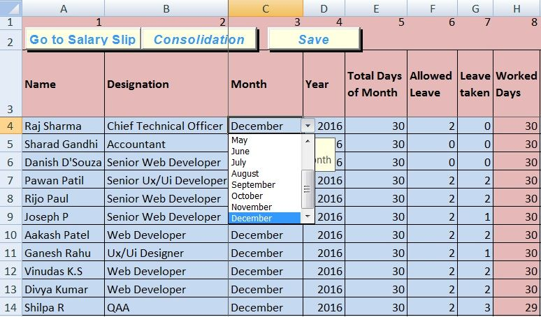 Download Salary Sheet Excel Template Excel Templates Payroll