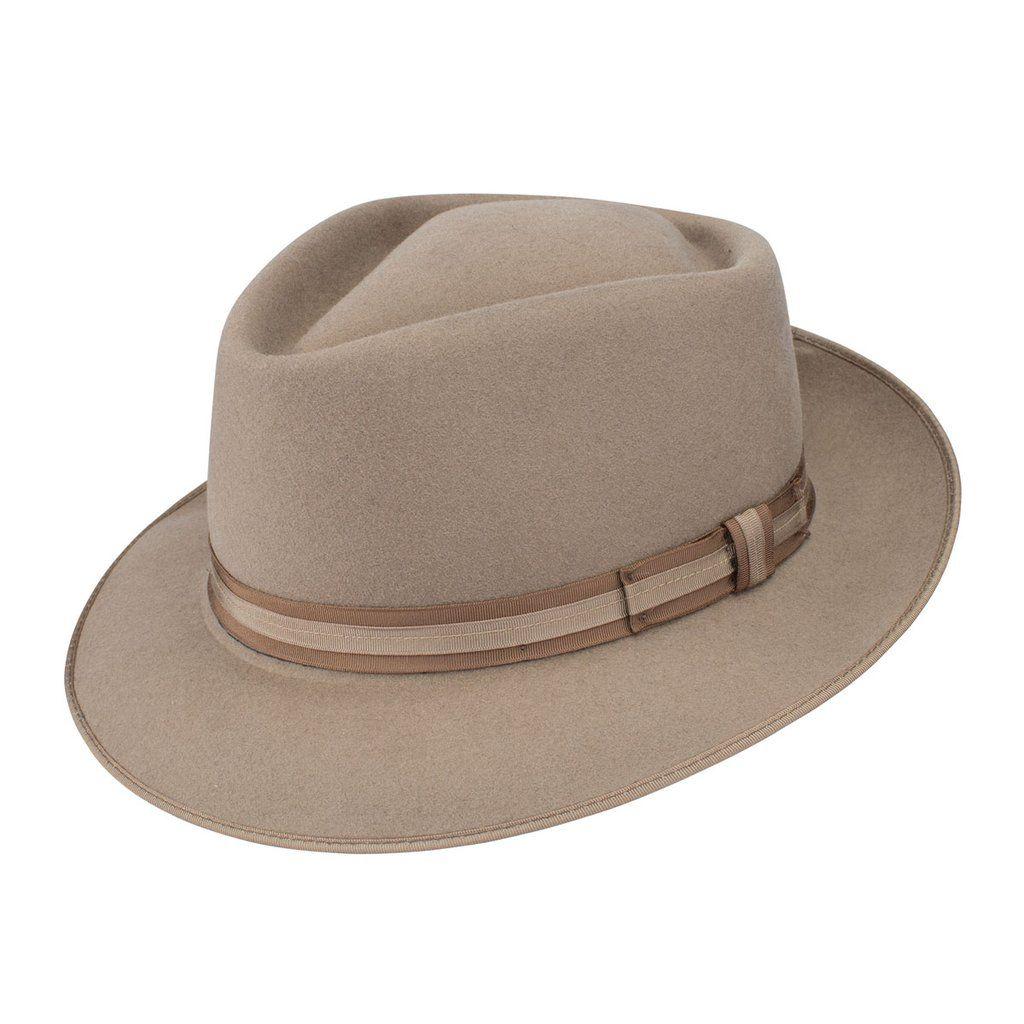 8b7ac2dbf1c Dobbs Capistrano Teardrop Fedora Hat