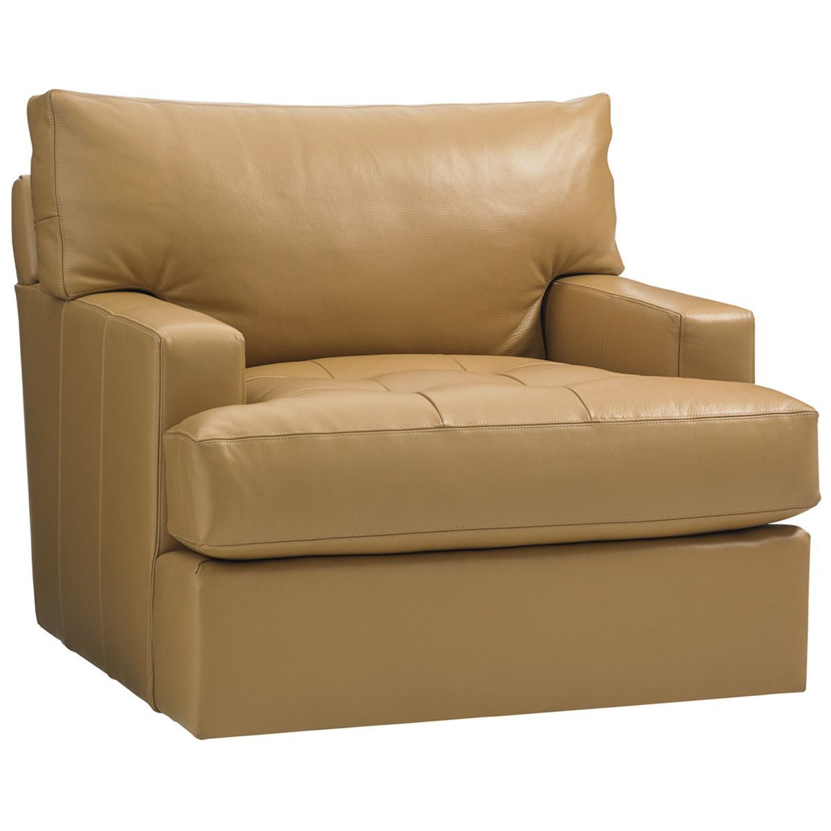 Leather Swivel Chairs For Living Room Lexington Island Fusion Osaka Leather Swivel Chair Products
