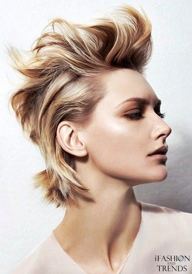 Easy Hairstyles For Short Hair To Do At Home Simple Rock Hair  Girls With Short Hair  Pinterest  Rock Hair Short