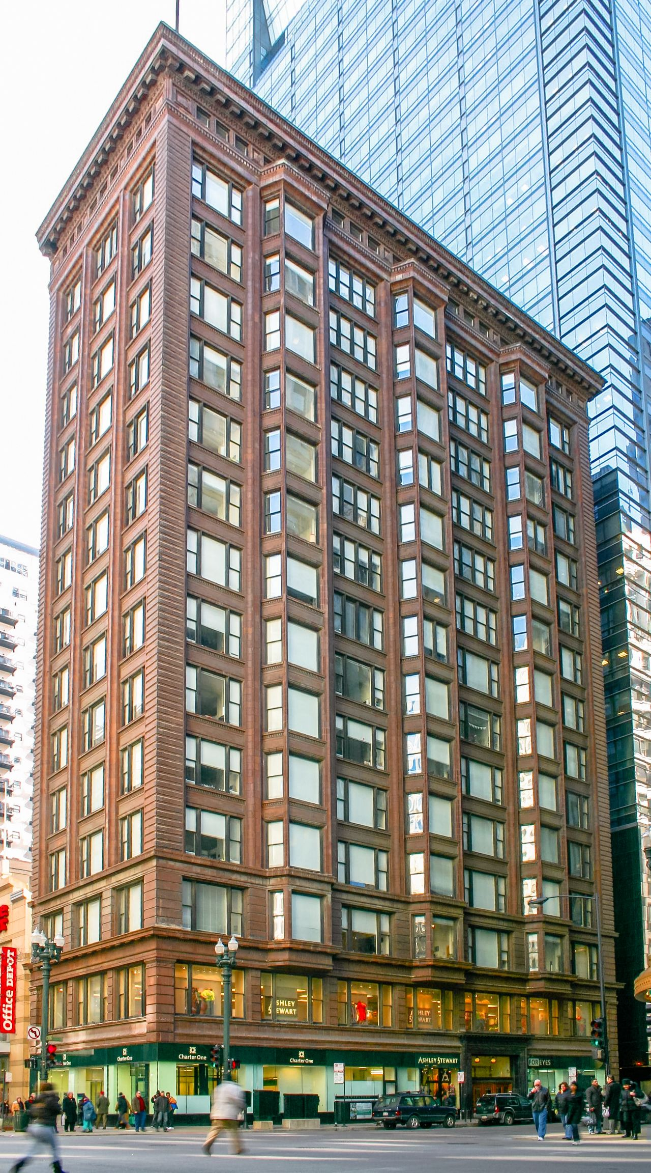 Modern Architecture Chicago burnham and root. monadnock building. chicago. 1889-91
