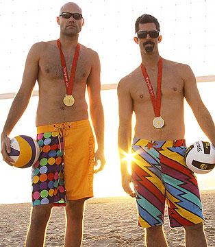 My fav USA men's beach volleyball players