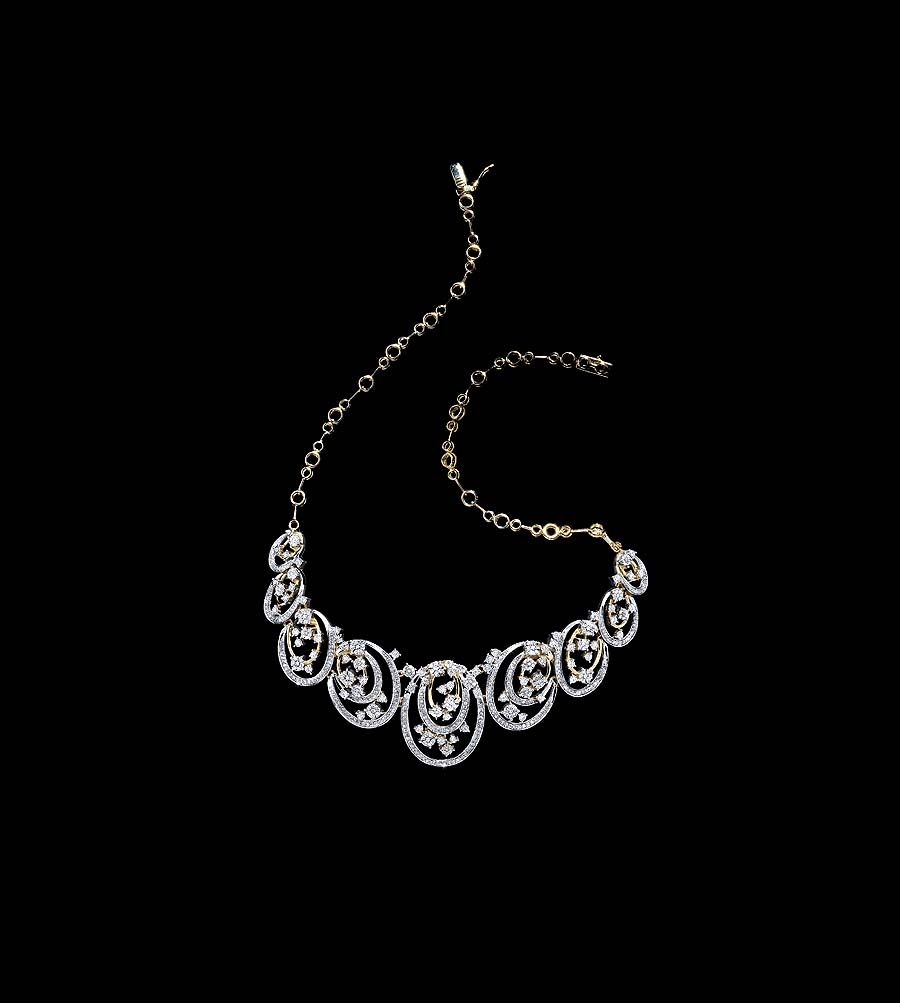The new inara collection of diamond bridal jewels from tanishq