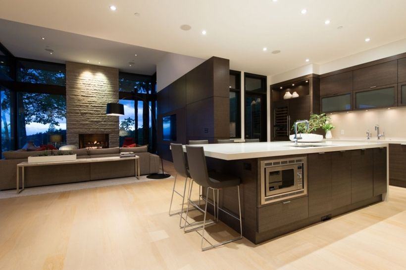 Elegant Modern House In West Vancouver Canada One DayHouse - Burkehill residence canada