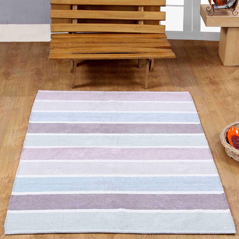 Toller Teppich Läufer Von Homescapes Waschbarer Chenille Streifen Teppich Vorleger In Tollen Pastellfarben Streifenteppich Teppich Bunt Teppich Kinderzimmer