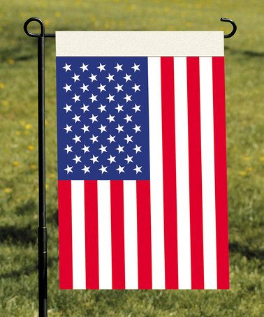 Take a look at this USA Garden Flag by BSI Products on #zulily today!