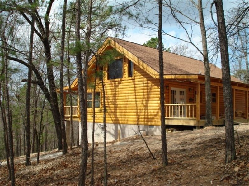 Branson Mo Log Cabin Private Porch Quiet Mtn Forest View Above Lake Handicap Blue Eye Vacation Cabin Rentals Log Cabin Rentals Cabin Rentals