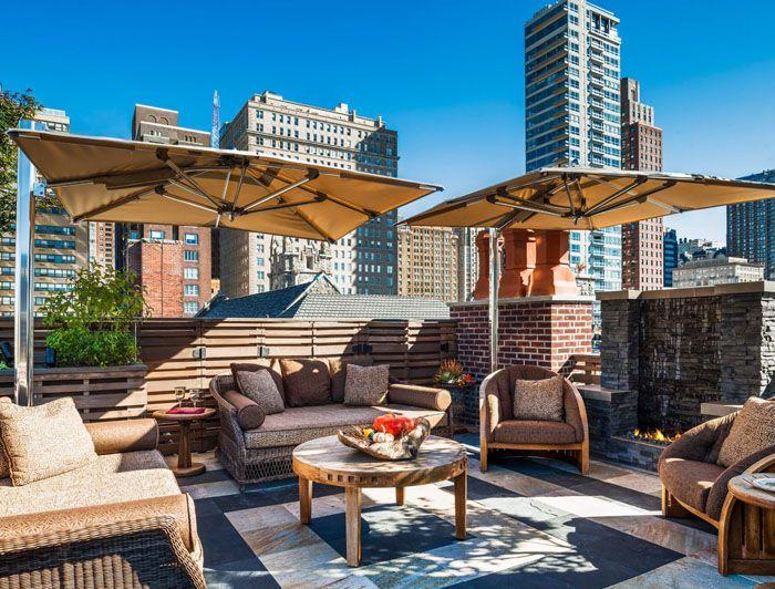 Dachterrasse Gestalten Sch Ne Aussichten Deko Ideen Gartenmoebel