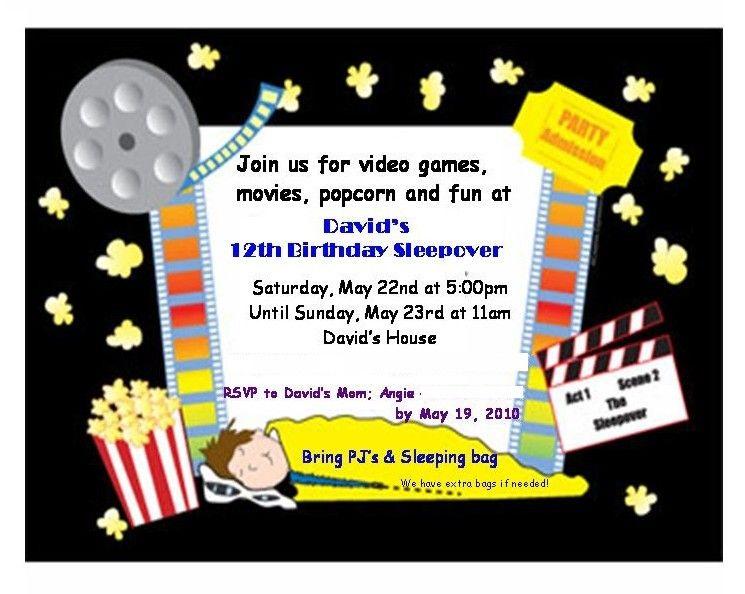 Free Printable Boys Sleepover Birthday Party Invitations Birthday Party Invitation Templates Printable Birthday Invitations Boy Birthday Party Invitations