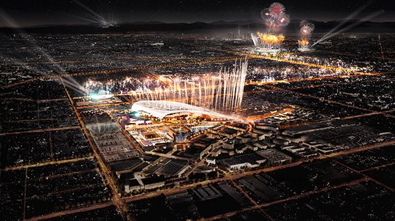 Los Angeles 2028 Ca Aecom Olympics Olympic Games Summer Games