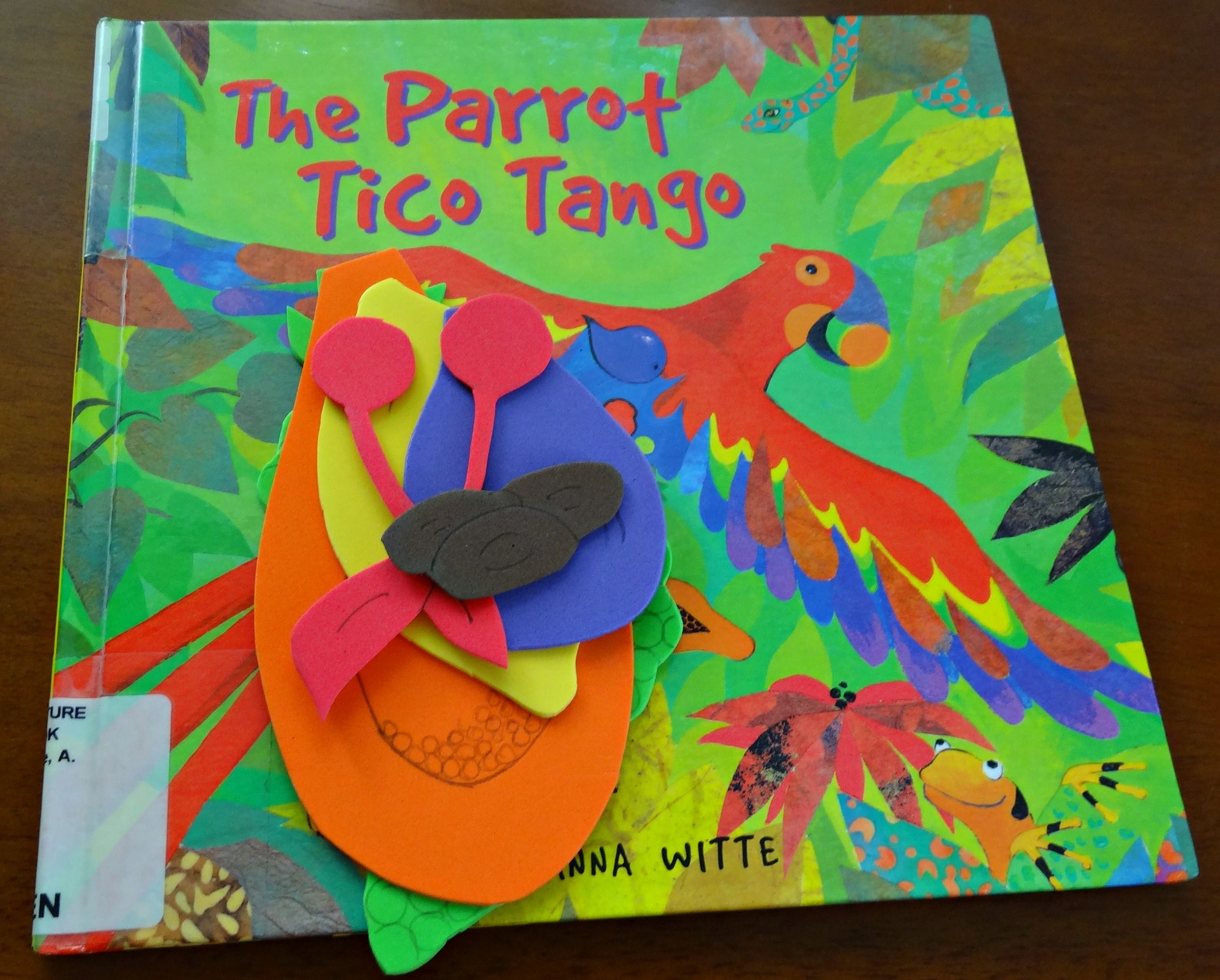 The Parrot Tico Tango Book Based Activity