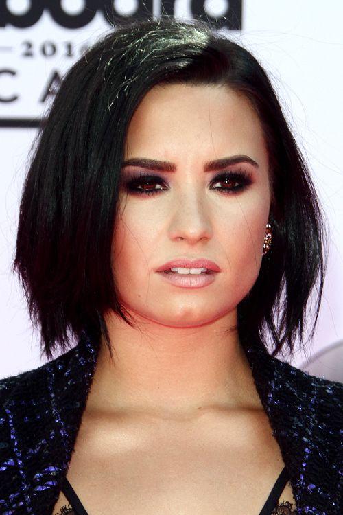 Demi Lovato Bob Hairstyle