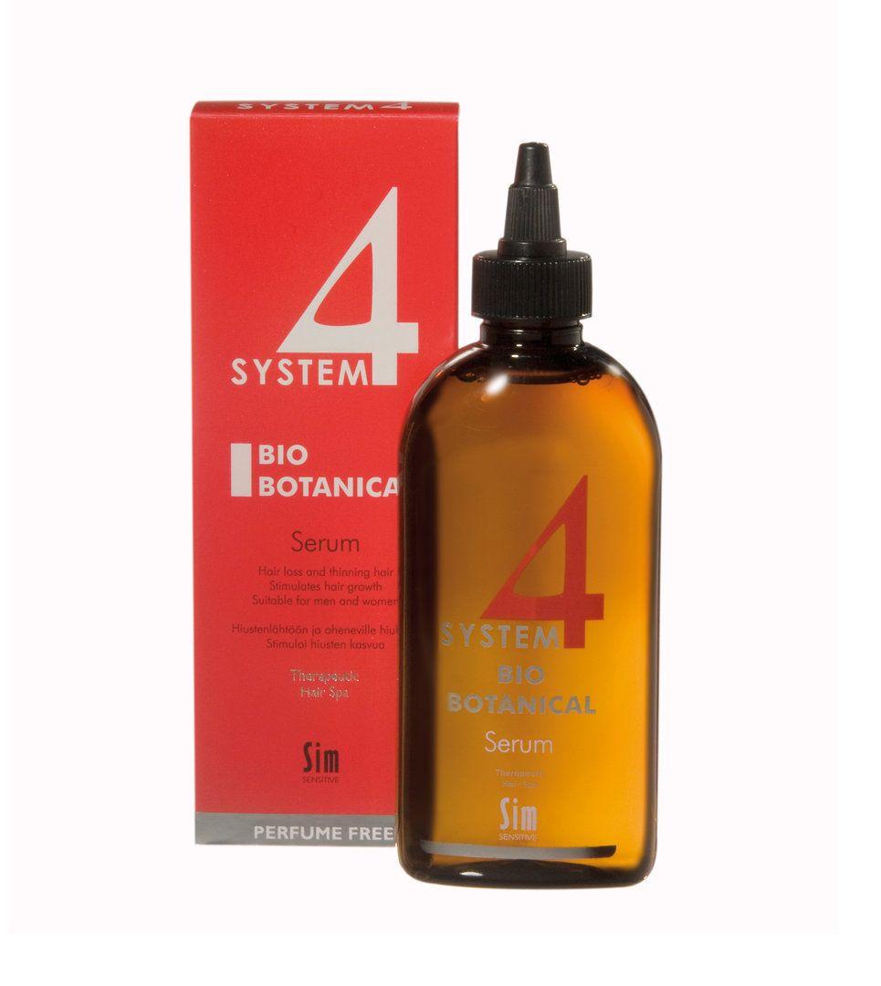 * * SYSTEM 4 BIO BOTANICAL SERUM hiustenlähtöön 200 ml