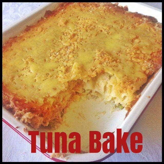 Tuna Bake (Thermomix Method Included)