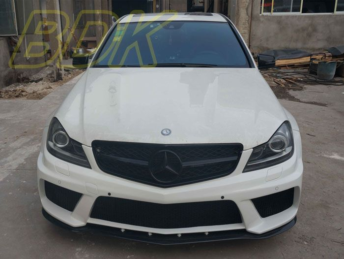 C180 Black Grill C200 Grille C260 Amg Style Abs Front Bumper Grill