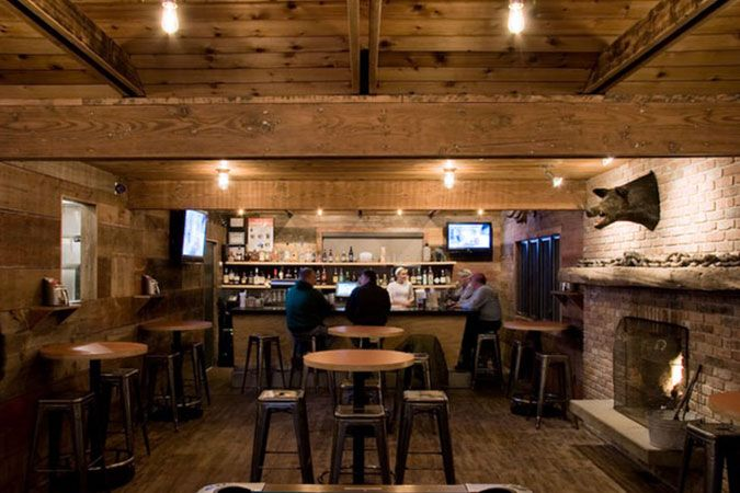 Awesome Bbq Restaurant Interior Design Ideas Images - Amazing ...