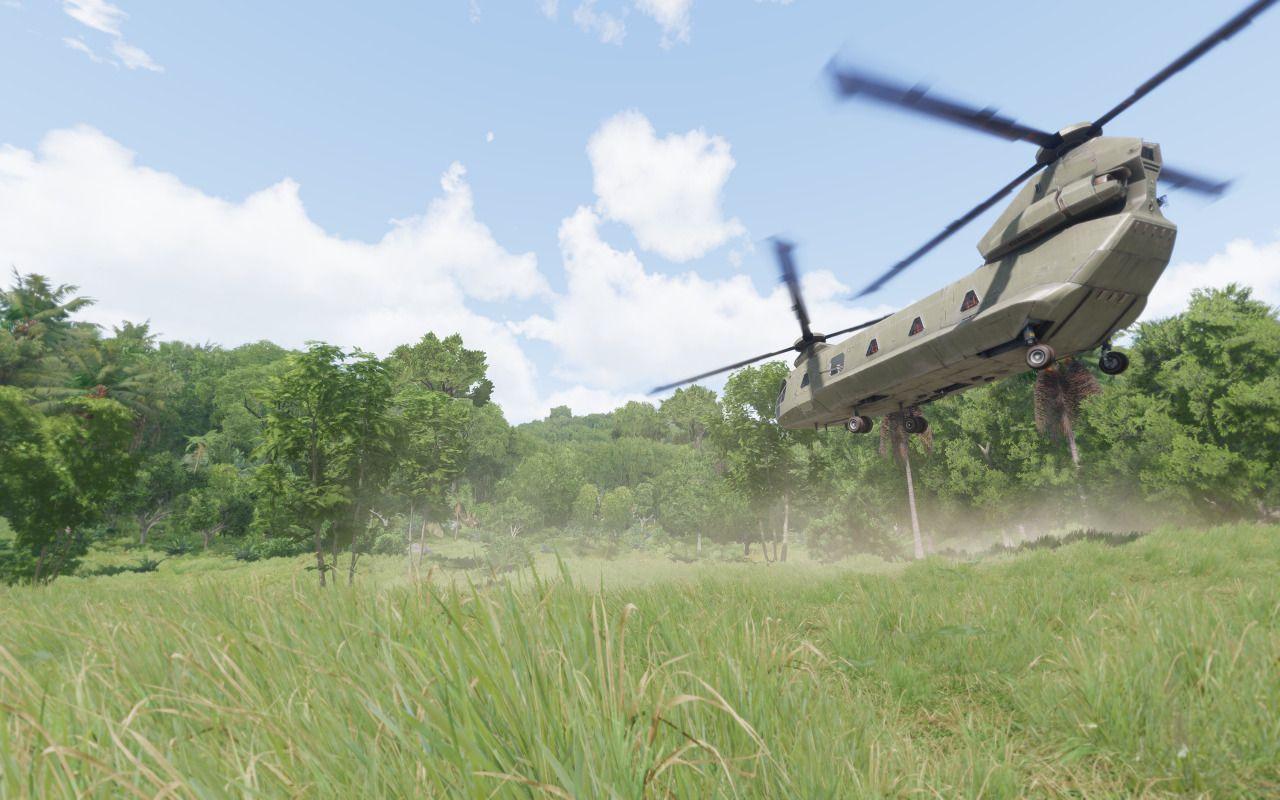 Helicopter landing (ARMA 3 Screenshots) | ArmA | Arma 3, Military