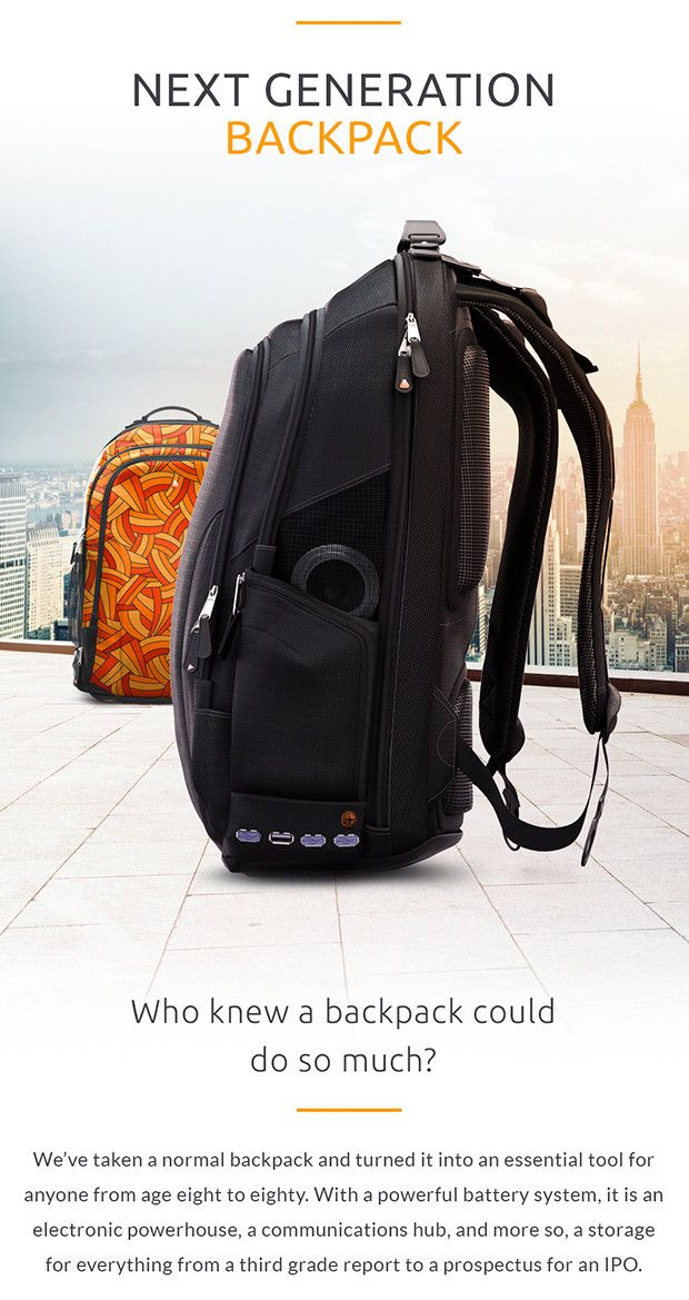 Heavy ‪#‎Socialmedia‬ user like me and always on the run? GrabİBackPackİBackPack and share 3G and 4G WiFi connection for up to six friends plus a powerful 2 x 10K mAh batteries. Its more than enough for your daily use (Grab one from $99 for starter limited edition) -http://igg.me/at/ibackpack/x/12536686