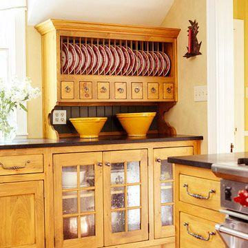 Open Storage Ideas. Plate StoragePlate RacksCottage KitchensCountry ... & Open Storage Ideas | Plate racks Storage ideas and Storage