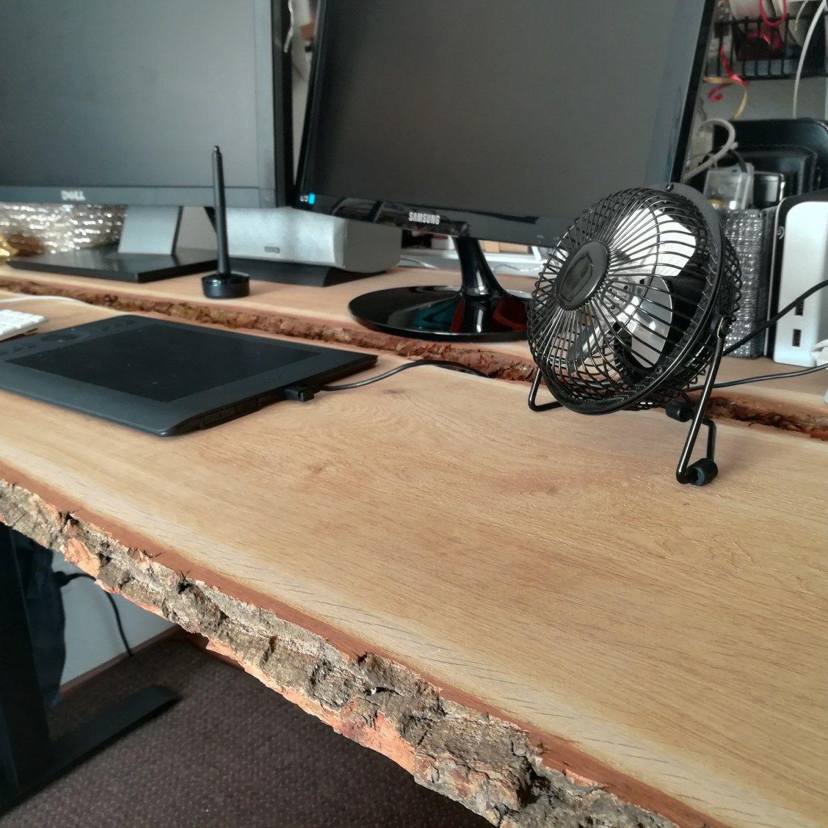 Diy Schreibtisch Aus Holzbohlen Selber Bauen Creative Material Schreibtisch Selber Bauen Ideen Schreibtisch Selber Bauen Wohnzimmertisch Selber Bauen